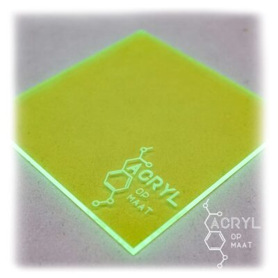 3mm Fluor-Groen-95x475mm