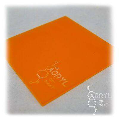 3mm Satijn Oranje 600 x 60mm