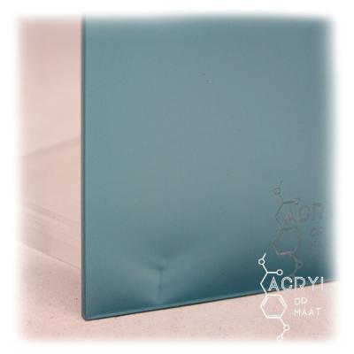 Satijn Pauwblauw 600x400mm