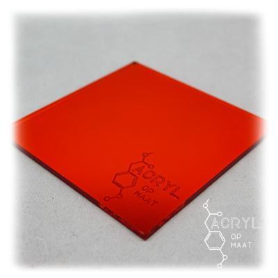 Spiegel Rood 900x600mm