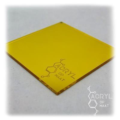 Spiegel Geel 900x600mm