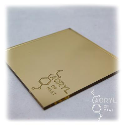 Spiegel Goud 900x600mm