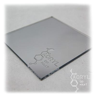 Spiegel Zilver 900x600mm