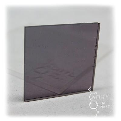 Transparant Gekleurd Antraciet 300x200mm