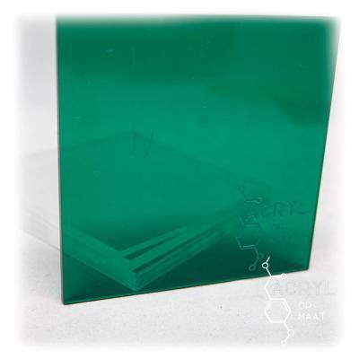 Transparant Gekleurd Donkergroen 300x200mm