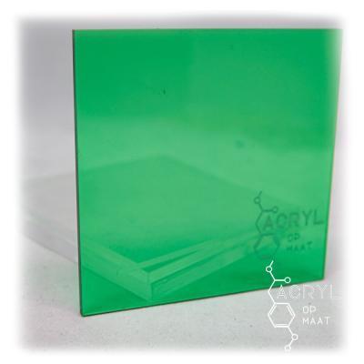Transparant Gekleurd Lichtgroen 600x400mm