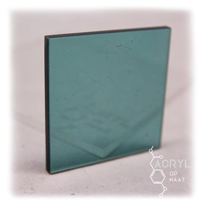 Transparant Gekleurd Grijsgroen 300x200mm